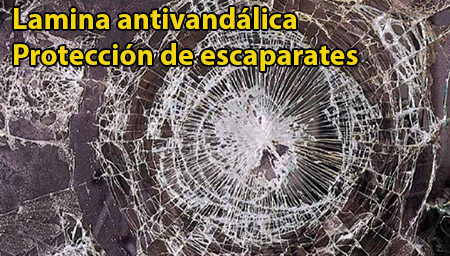 Rotura de escaparates prevención